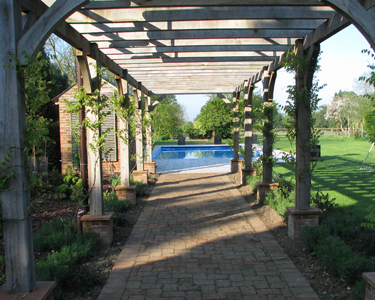 Pergola, Newland Construction, building in Hertfordshire and surrounding areas